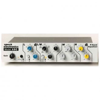 Speck Model ASC 4-Band Equalizer – Transfomer Version