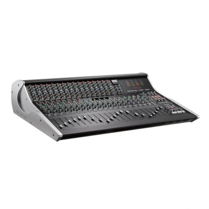 SSL XL-Desk Mixing Console w/ 16 E Series EQ Modules