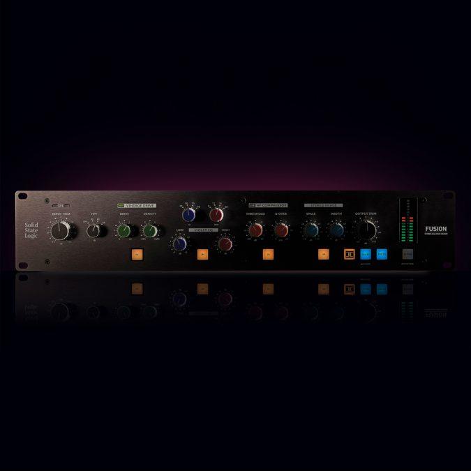 Solid State Logic Fusion – 2U Stereo Outboard Processor