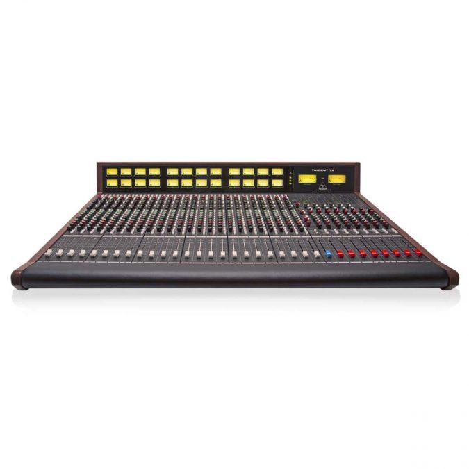 Trident Audio 78 Series Analog Mixing Console with Meter Bridge