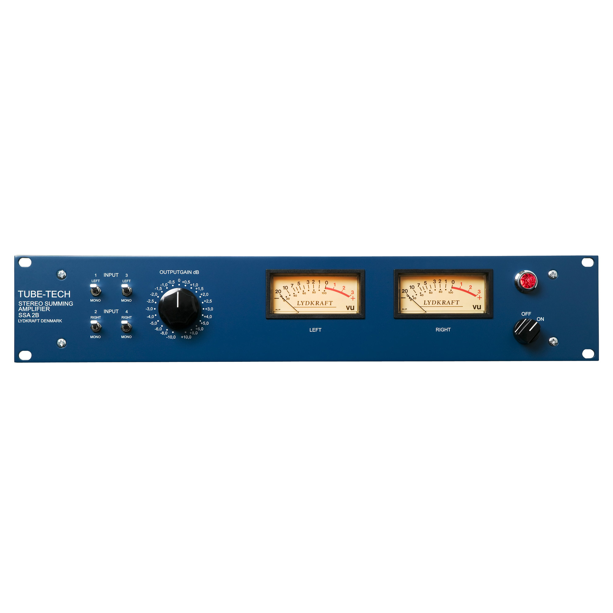 Tube Tech Ssa 2b Stereo Summing Amplifier Sonic Circus Supply For Audio Mixer Circuit Schematic Diagram