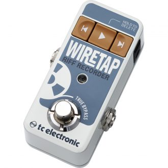 TC Electronic Wiretap Riff Recorder Effects Pedal