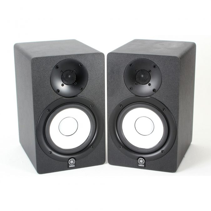 Yamaha HS50M Active studio monitors (Pair) used