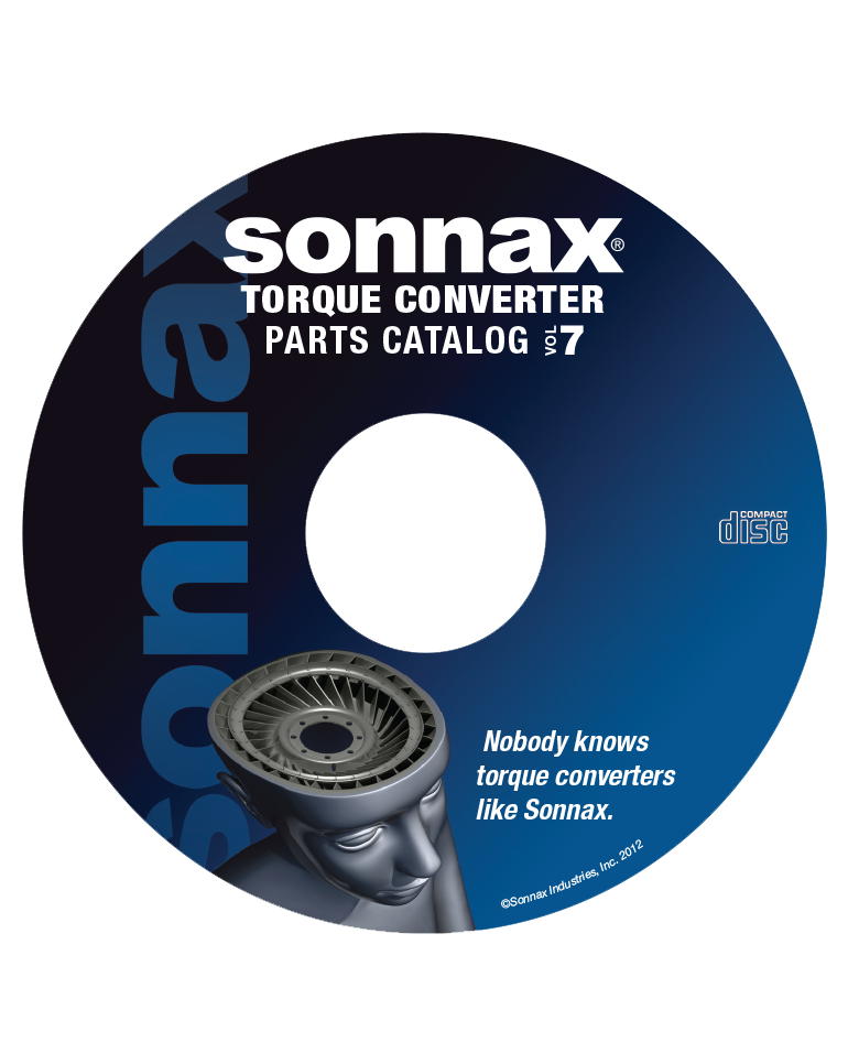 Torque Converter Catalog Vol. 7 on CD