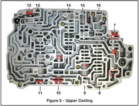 u140e transmission valve body