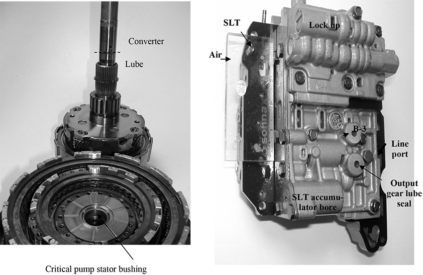Sonnax AW 55-50 / AF23-33: Diagnosis and Valve Body Information