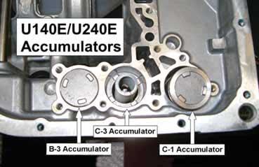 Transmission Slips Until Reset >> Sonnax Toyota U140/U240 Series Diagnostic Information