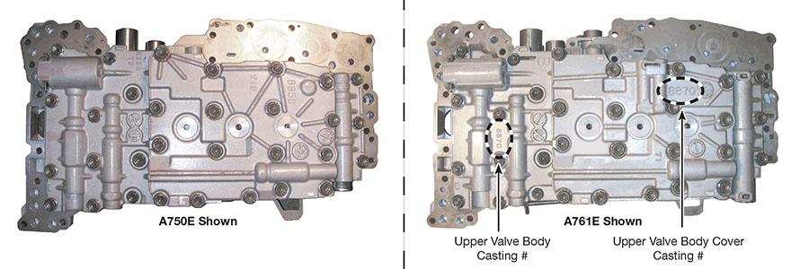 a750e transmission valve body