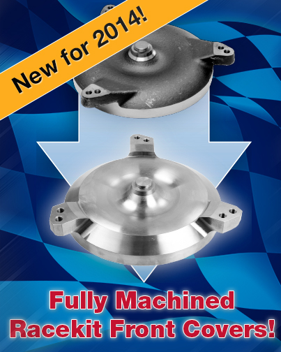 NEW! Fully Machined Racekit Front Covers