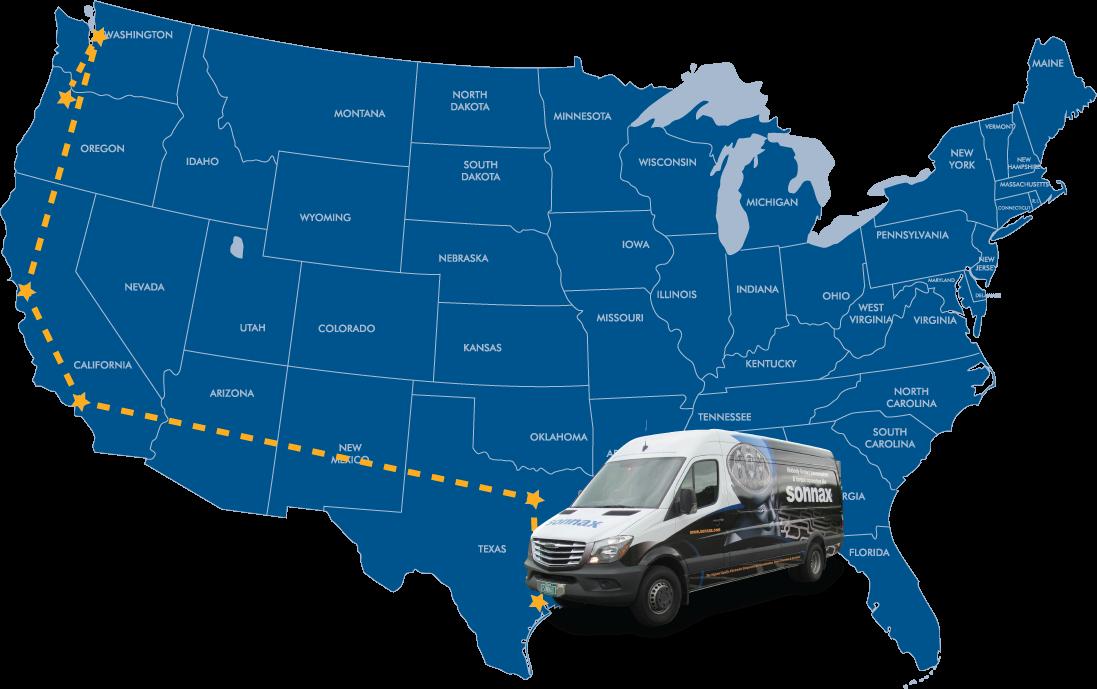 Where is the Roadshow Van Now?