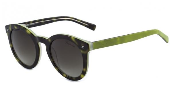 9b03671320955 Ana hickmann ah 9005 oculos de sol g23 preto mesclado e verde marrom  degrade lente 48