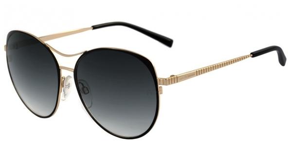 b76c70f19ee32 Ana hickmann ah 3132 oculos de sol 09a preto e dourado brilho preto degrade  lente 57