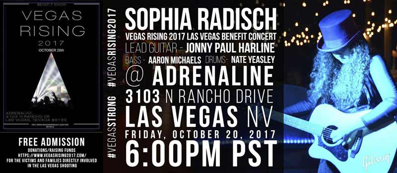 Vegas Rising Benefit Rock Concert