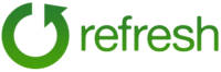 A great web designer: Refresh, New York, NY logo