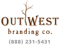 A great web designer: Out West Branding, Long Beach, CA logo