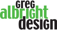 A great web designer: Greg Albright Design, Indianapolis, IN logo