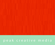 A great web designer: Peak Creative Media, Denver, CO logo