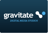 A great web designer: Gravitate, Dublin, Ireland logo
