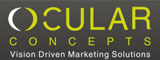 A great web designer: Ocular Concepts, Cleveland, OH logo