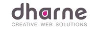 A great web designer: Dharne dot com, Los Angeles, CA logo