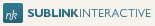 A great web designer: Sublink Interactive, Brussels, Belgium logo