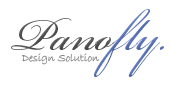 A great web designer: Panofly Design Solution, Perth, Australia logo