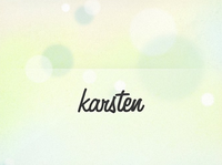 A great web designer: karstenrowe.com, London, United Kingdom