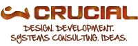 A great web designer: Crucial Networking, LLC, Hartford, CT logo