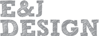 A great web designer: E&J Design, San Francisco, CA logo