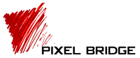 A great web designer: Pixel Bridge, Boston, MA logo