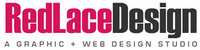 A great web designer: Red Lace Design, Portland, OR logo