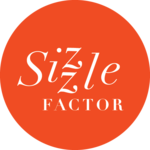 A great web designer: SizzleFactor, New York, NY logo