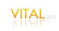 A great web designer: VITAL BGS, Los Angeles, CA logo
