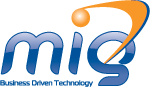 A great web designer: MILLENNIUM INFORMATION GROUP, West Palm Beach, FL logo