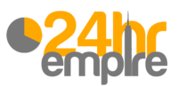 A great web designer: 24hrEmpire / 24hrStudios / 24hrPrint, Fort Lauderdale, FL logo