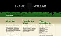 A great web designer: Shane Mullan, Belfast, United Kingdom