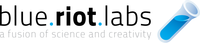 A great web designer: Blue Riot Labs, New York, NY logo