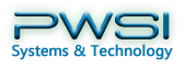 A great web designer: PWSI Systems and Technology, Washington DC, DC logo