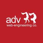 A great web designer: ADV web-engineering co., Moscow, Russia logo