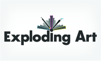 A great web designer: Exploding Art, Gothenburg, Sweden logo