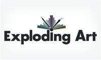 A great web designer: Exploding Art, Gothenburg, Sweden logo