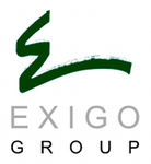 A great web designer: Exigo Group, Orlando, FL logo