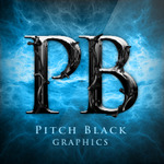 A great web designer: Pitch Black Graphics, Fresno, CA logo