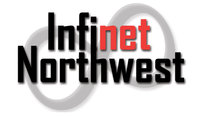 A great web designer: Infinet Northwest | Affordable Online Marketing, Spokane, WA logo
