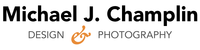 A great web designer: Michael J. Champlin Design + Photo, Austin, TX logo