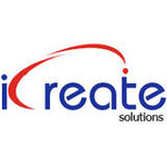 A great web designer: i Create Solutions, Hyderabad, India logo
