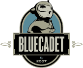 A great web designer: Bluecadet, Philadelphia, PA logo