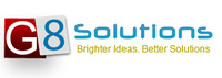 A great web designer: G8 Solutions, Jaipur, India logo