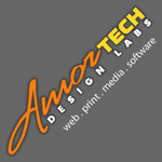 A great web designer: Amortech Design Labs, Calgary, Canada logo