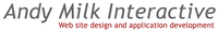A great web designer: Andy Milk Interactive, New York, NY logo